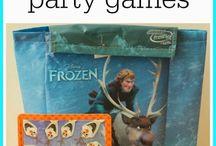 frozen party / by Geneva Bills carroll