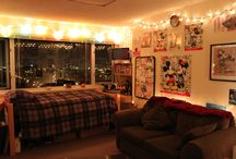 Dorm Décor Ideas / Inspiration for dorm room decorating.