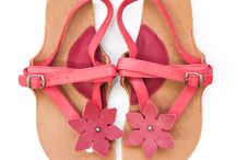 go barefoot / summer leather barefoot sandals