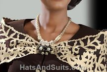 LADIES SUITS AND HATS