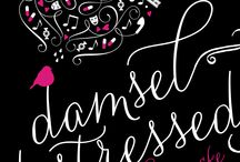 Damsel Distressed / Pretties, Words, and Behind the Scenes tidbits from and about my novel DAMSEL DISTRESSED.