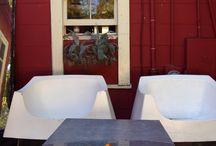 primitive design country home / обстановка небольшого загородного дома с верандой