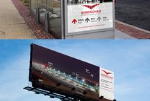 Airport Logo / #Logo #Design #Corporate #İdentity Design, Billboard Design, #Magazine Design