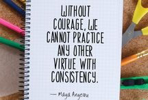 Maya Angelou rocks the house / Quotes I love...by Maya Angelou of course!