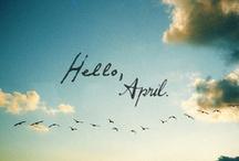 April! / Kalender til valgfag!