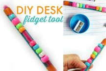 Fiddle toys / classroom crafts