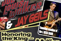 JOE LOUIS WALKER & Special Guest JAY GEILS / B. B. King Tribute - Jay Geils, founder and guitarist of the iconic rock group J. Geils Band, and Joe Louis Walker, a Blues Hall of Fame inductee and four-time Blues Music Award winner, team up for a joyful tribute honoring the late, great B.B.King. #atthenewt #jaygeils #joelouiswalker #bbkingtribute http://www.thenewtontheatre.com/event/5d83f3f4ceacca7bed6b8c536524ef9b