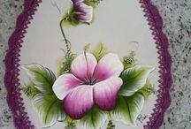 Pintura tapa de baño pintada