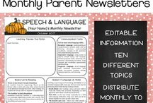 Monthly speech newsletter
