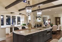 High Ceiling Beam Living spaces