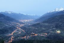 Introd:a small village in the Alps