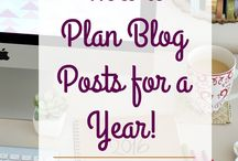 Blogging / Blogging tips and helpful bits & pieces.