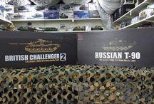 Heng Long Challenger 2 und T-90 / Hier seht ihr die Präsentation des Heng Long Challenger 2 und T-90 in unserem Ladengeschäft in Haibach......