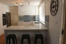 My Kitchen with Caesarstone / All our Kitchens with beautiful Caesarstone Tops
