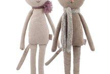 fabric animals doll