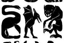 schaduw, silhouet / #silhouetten #schaduwen / by Hayet de Bont