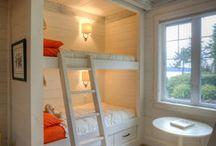 Shared bedroom / by Heather DeZurik