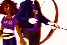 Casais Percy Jackson <3