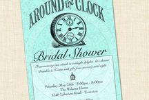 Around the Clock Bridal Shower / by B.Nute productions
