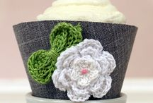 Crochet Accessories / Select your favorite Crochet Accessories and show us how you have used them to enhance our cupcake wrappers or an item of your own.