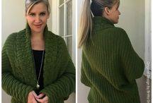 Crochet - Jackets/Cardigans