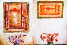 Visual Diaries / sketch, visual, graphic, photos