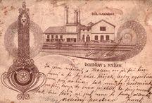 Důl Lazarus / Důl Lazarus.  V roce 1868 vyhloubila Pražská železářská společnost velkou šachtu Lazarus (také Lazarka). Později ji  koupil důlní podnikatel v Nýřanech - JUDr. František Pankráz