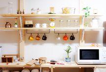 キッチン収納  Kitchen storage