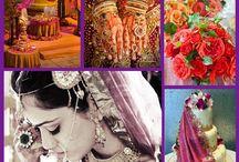Marokkaanse bruiloft Moroccan wedding / Marokkaanse huwelijken zijn vrolijk, kleurrijk en de vele details spelen een belangrijke rol.