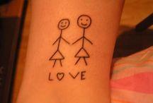 Lesbian Tattoos.