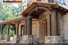 Front Porch - Western Red Cedar