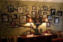 Wall photo ideas