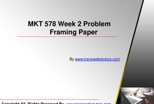 MKT 578 Week 2 Problem Framing Paper