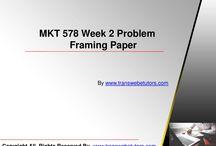MKT 578 Week 2 Problem Framing Paper