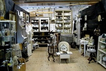 Favorite Antique Booths & Barns / These are photos of amazing Antique vendors I come across who show their wares at various markets.  As a Designer I LOVE seeing what they have and try to incorporate as many pieces as I can in any space I work on