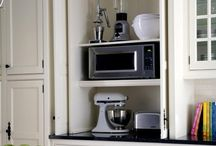 Hide small appliances out of sight