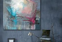 ART: Living with Artwork / Interior Design with incredible artwork