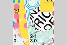Graphic design: Posters