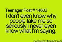 Teenager posts / Teenager posts