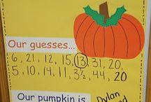 Fall Theme - Pumpkins