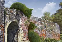 Topiaries & Garden sculpture