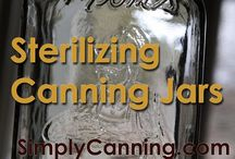 Home Canning / Preserving freezing and canning fruits vegetables & sauces