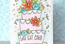Suzy's Watercolor Cards