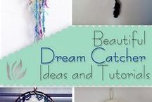 DIY dreamcatchers windchimes