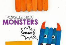 Popsicle stick idea/Spatulás ötletek