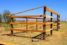 To build on farm
