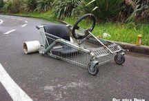 Adult Carts & Big Wheels