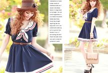 Japanese and other Asian girly clothes / Because you can never have enough lolita dresses.... For the Medieval styled dresses look here:https://nl.pinterest.com/StarlightLass/dresses/