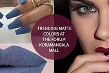 Trending Matte Colors At The Forum Koramangala Mall