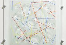 Siobhan Jones fused Glass / Fused glass by Siobhan Jones using Bullseye.